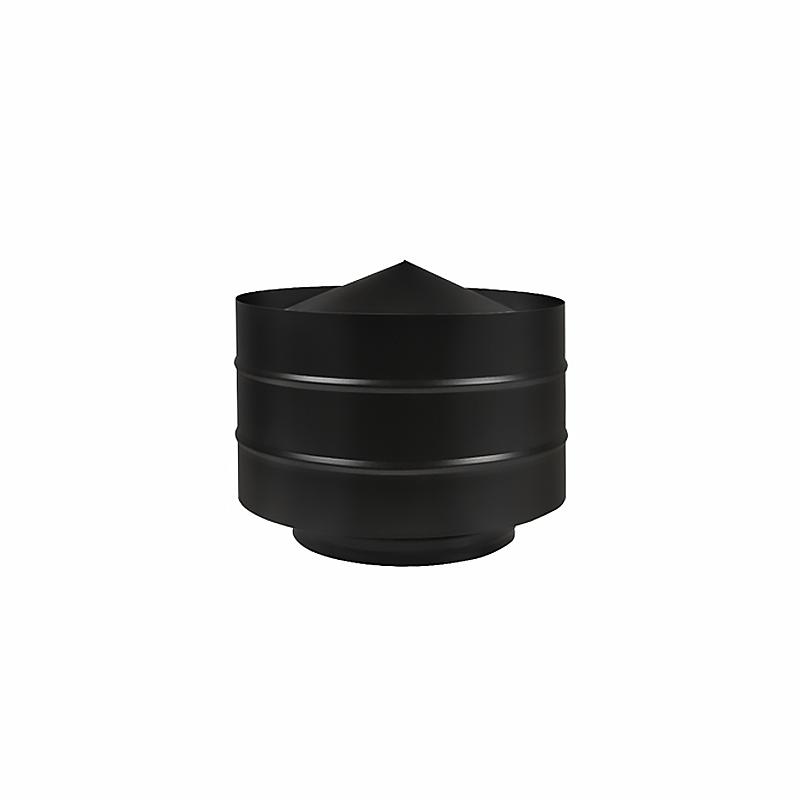 Дефлектор BLACK Везувий (AISI 430/0,5мм) д.150х250