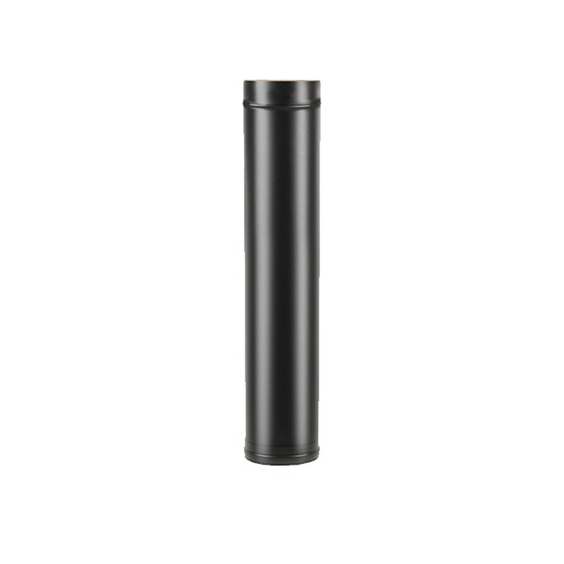 Сэндвич-труба BLACK Везувий (AISI 430/0,8мм) д. 200х300, L-0,5м