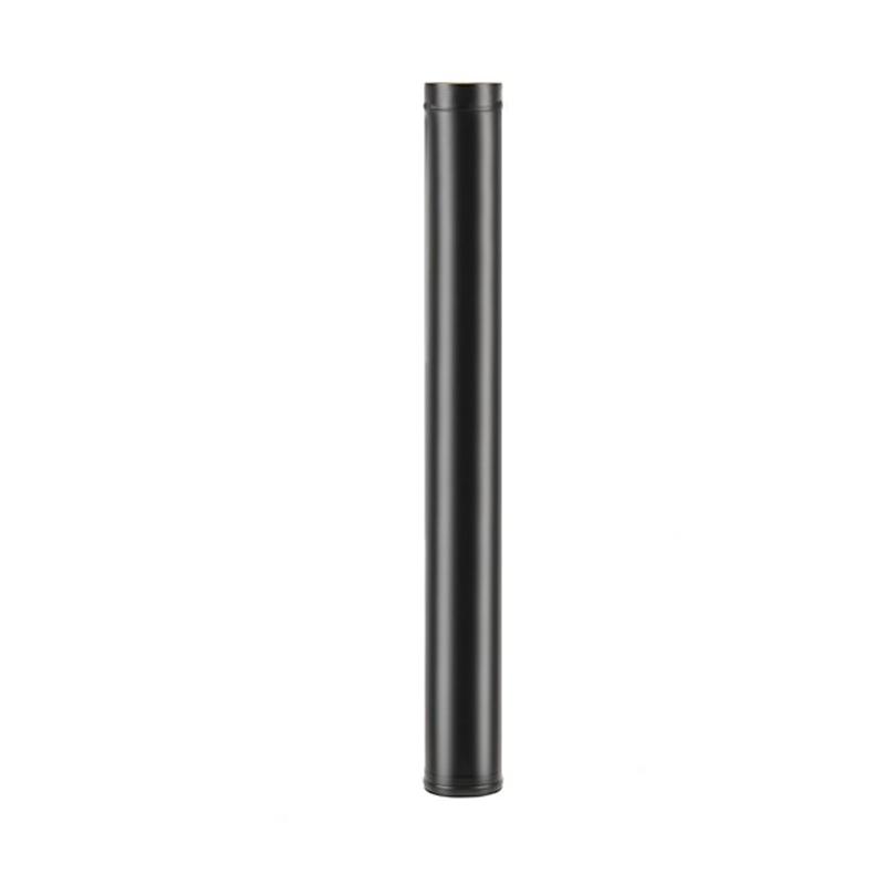 Труба BLACK Везувий (AISI 430/0,8мм),  диаметр от 115 до 200 L-0,5м