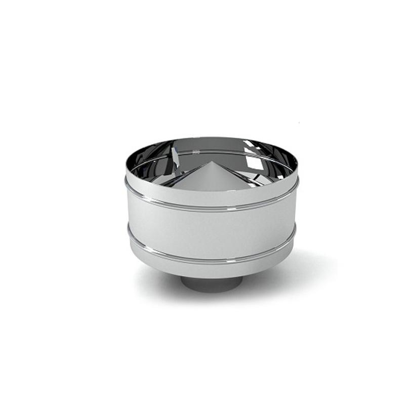 Дефлектор Оц+Нерж. Везувий (AISI 430/0,5мм) д.115х180