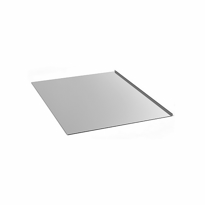 Лист предтопочный нерж. зерк. Везувий (AISI 430/0,5мм) 400х600 мм